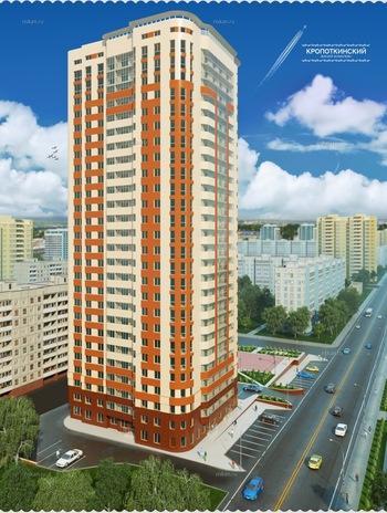 Фотография ЖК Кропоткинский Новосибирск