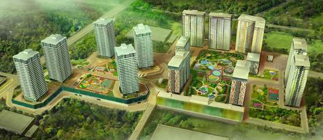 План жилого комплекса Оазис Новосибирск