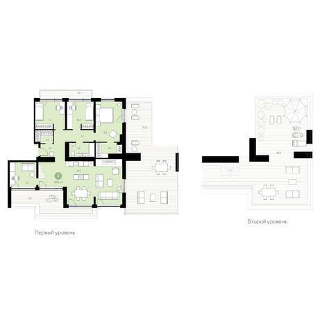 Вариант №4735, 5-комнатная квартира в жилом комплексе Европейский Берег