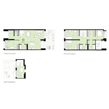Вариант №6254, 5-комнатная квартира в жилом комплексе