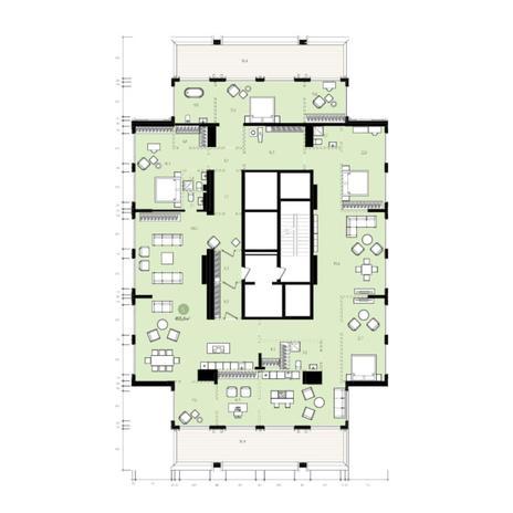 Вариант №6057, 5-комнатная квартира в жилом комплексе