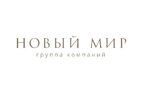 Логотип застройщика Новый Мир