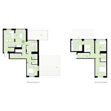 Вариант №4659, 6-комнатная квартира в жилом комплексе Европейский Берег
