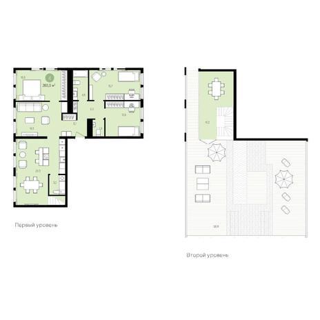 Вариант №4999, 5-комнатная квартира в жилом комплексе Пшеница