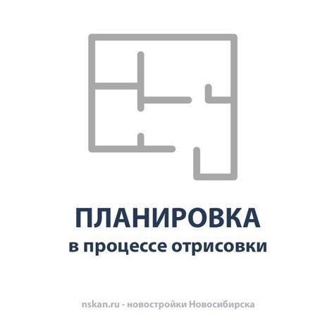 Вариант №3970, 2-комнатная квартира в жилом комплексе Северная корона
