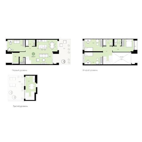 Вариант №6276, 5-комнатная квартира в жилом комплексе